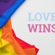 IDAHOBIT - Love Wins; Image from FreePik and modified by IPPF