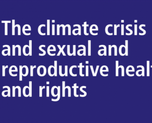 IPPF - Position paper - Climate crisis and SRHR
